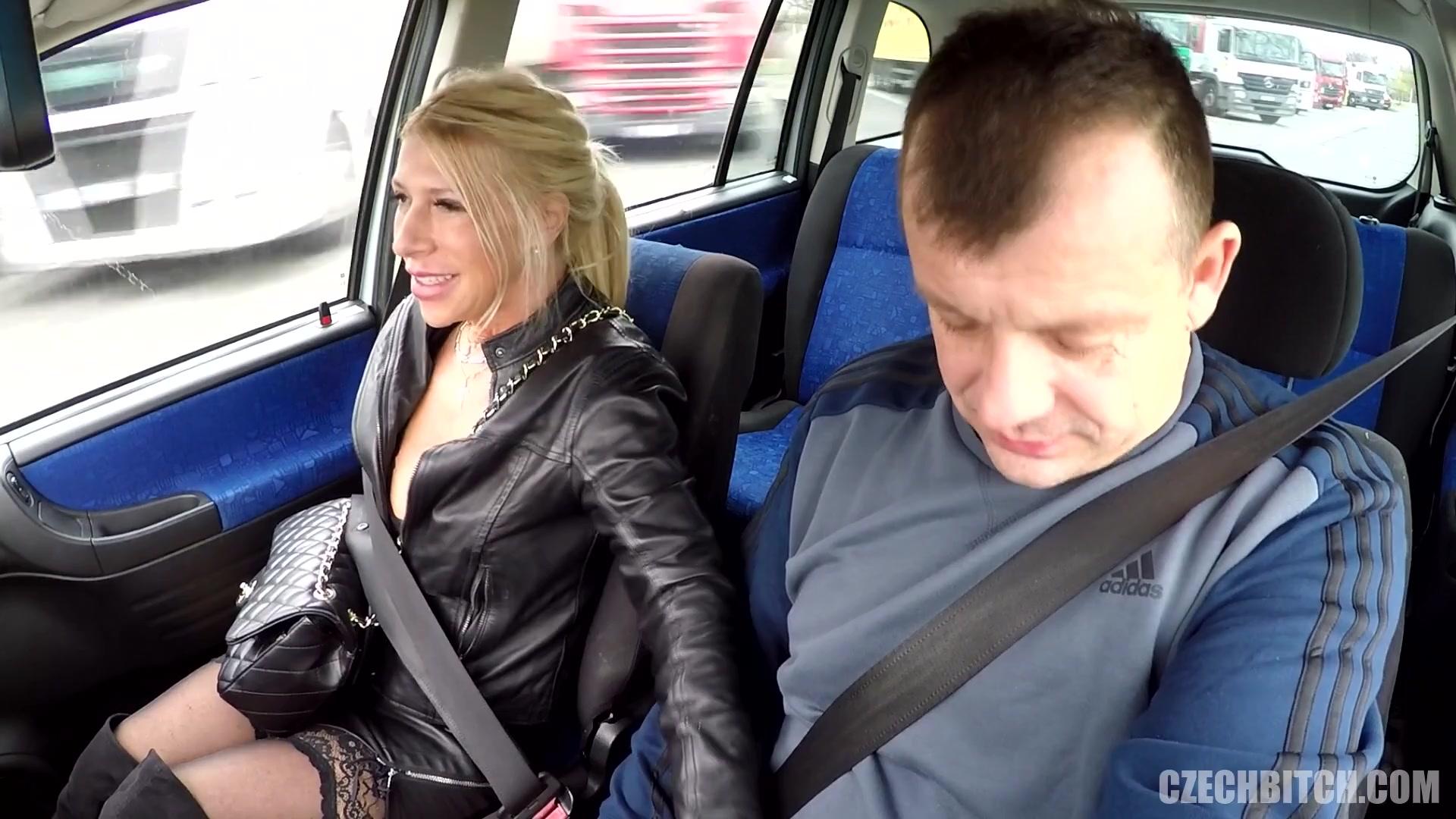 В машине с чешской блядью